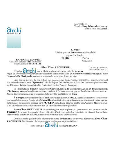 UMP13-001-001-lettre