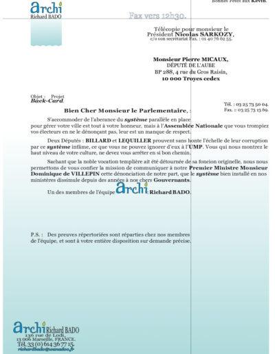 UMP22-001-001-lettre