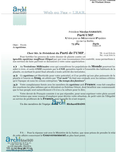UMP23-001-001-lettre