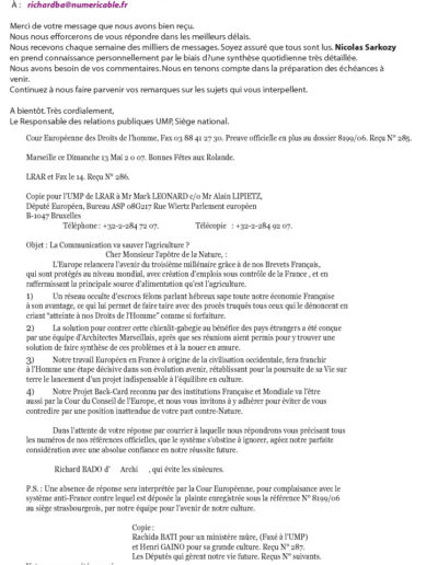 UMP30-001-001-lettre