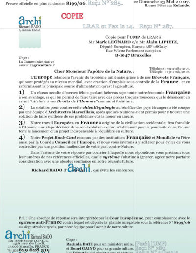 UMP36-001-001-lettre
