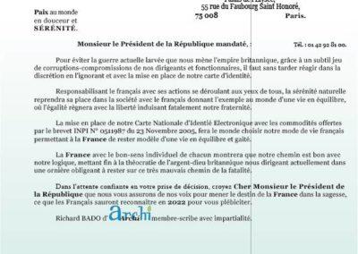 Emmanuel MACRON 6 Octobre 2021